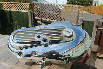 1976 Harley Davidson Ironhead Sportster Primary Cover. Chopper Bobber Project