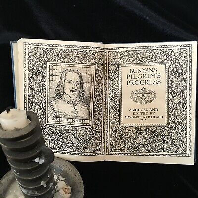 Pilgrims Progress by John Bunyan - pub 1949 Illustrated Vintage Hardback Book