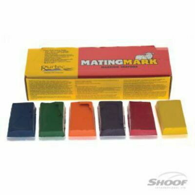 Shoof Crayon Mating Mark Hot Orange 10pk