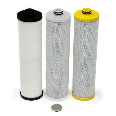 Water Filter Replacement Under Counter Filtration System 3-Stage 20 Microns New
