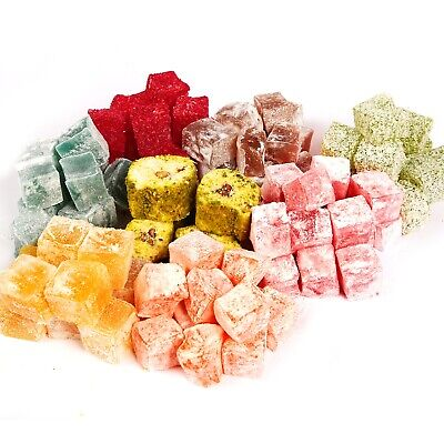 Turkish Delight Handmade Available in All Flavours (From 50g to 5kg)
