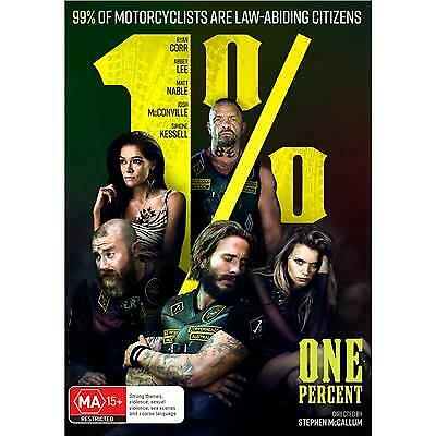 1% One Percent Dvd, New & Sealed, 2019 Release, Region 4, Free Post