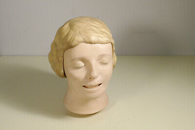 Mannequin Head from resuscitation practice dummy