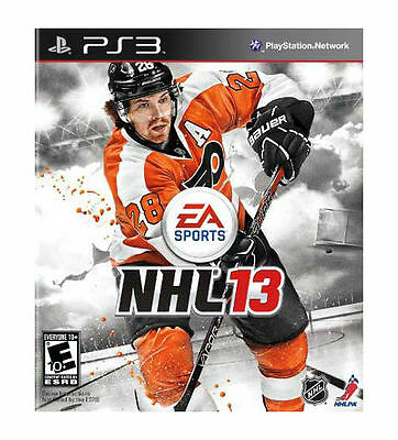 NHL 13 (Sony PlayStation 3, 2012) DISC IS MINT COMPLETE COPY