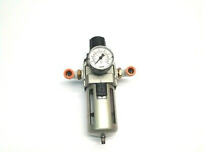 SMC AW40-N04-Z Pneumatic Filter Regulator with Gauge