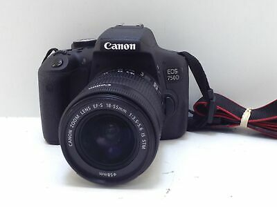 Camara Digital Reflex Canon Eos 750D+Ef-S 18-55Mm 1:3.5-5.6 Is Stm 4695284
