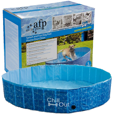 All For Paws AFP Chill Out Splash And Fun Dog Puppy Swimming Pool Medium Large
