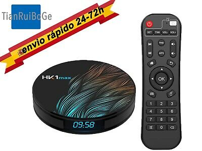 Android 9.0 HK1MAX 4+32/64GB Smart TV BOX 4K HD RK3328 Quad-Core 2.4G/5Ghz WIFI