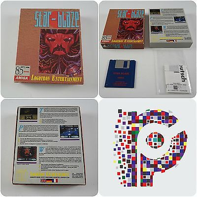Star-Blaze A Logotron Game for the Commodore Amiga Computer tested & working