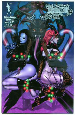 Tarot Witch of the Black Rose 95a Broadsword Jim Balent sexy NM FREE UK POST