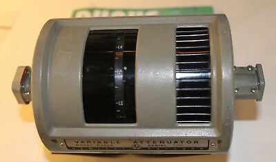 Hp Agilent R382A Variable Attenuator 18 To 26.5 Ghz