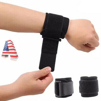 ADJUSTABLE SPORTS WRIST Band Brace Wrap Support Gym Strap Carpal
