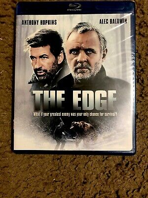The Edge  Blu Ray 1997 Anthony Hopkins Alec Baldwin Brand New!