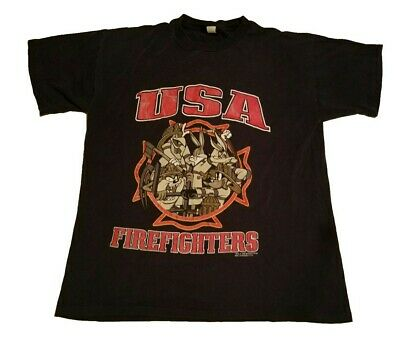 0526b96c VINTAGE 90S MONTANA T Shirt Mens Large Graphic Red Usa Made Anvil ...