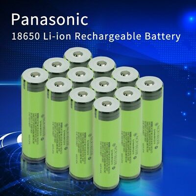 Panasonic Li-Ion 18650 Protected rechargeable battery Free Case & Charger