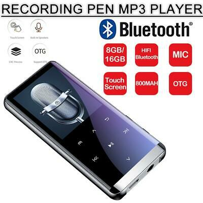 Bluetooth MP3 HIFI Music Player Lossless Sound Portable Support 8GB/16G