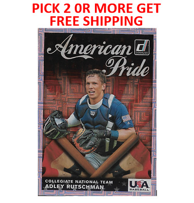 2019 Donruss American Pride USA Collegiate Team Pick 2 or More Get Free Shipping