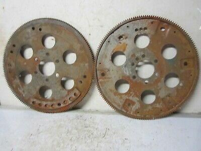 2 Vintage Large Rusty Metal Steel Flywheel Gear Industrial Steampunk
