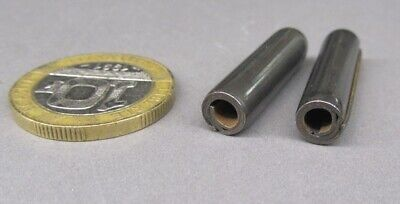 "Steel Coiled Spring Pin, 1/4"" Dia x 1.0"" Length, 50 pcs"