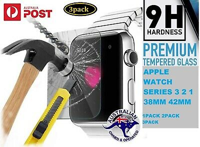 3xpack 38 42mm Tempered Glass Screen Protector Apple i Watch Series 1 2 3 Cover