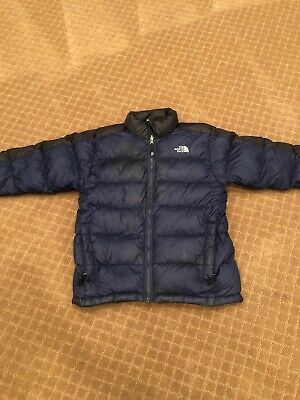 4f04b5d8b THE NORTH FACE Jacket Boys Large Blue Light Quilted Puffer Jacket ...