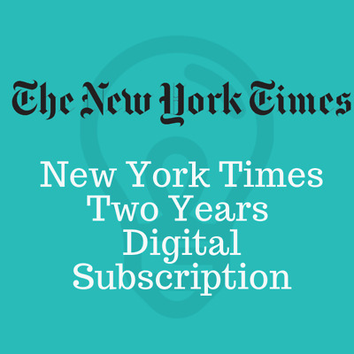 New York Times 2 Years Digital Account Subscription All Platforms Fast Delivery