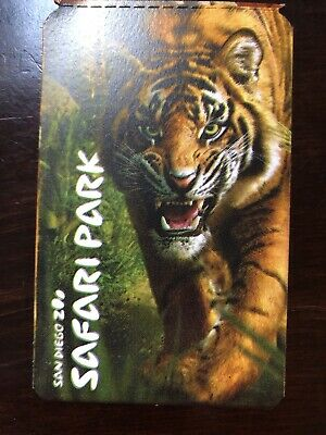 50% OFF PASS~San Diego Zoo/San Diego Safari Park~Expires 07/31/2019~$28 Value