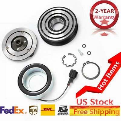 A//C AC Compressor Clutch Rearing Kit fit For Nissan Versa 92600-CJ60B Shaft New