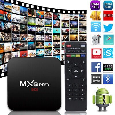 Tv Box PRO Android 7.1 17.3 4K 1G+8G MXQ Smart Amlogic rk3229 Quad Core Wifi 3D