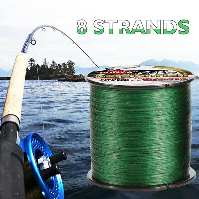 Super Strong 300M 8 Strands 8 Weaves PE Braided Fishing Line Rope Multifilament