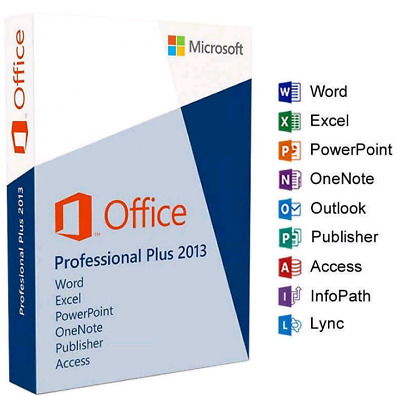 Office 2013 Pro Plus Key Online Activate Instant Send 32/64 Bits Worldwide