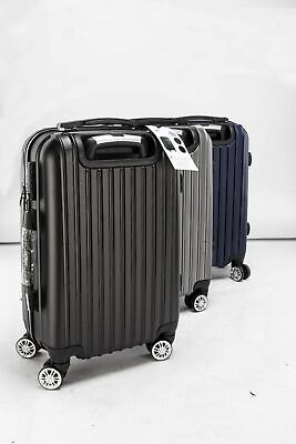 """20"""" Wear-resistant Travel Luggage Bag Trolley Suitcase ABS 360° Rolling Wheel"""