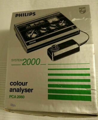 Philips Color Colour Analyzer Analyser Darkroom Photography Enlarger 2000 2060