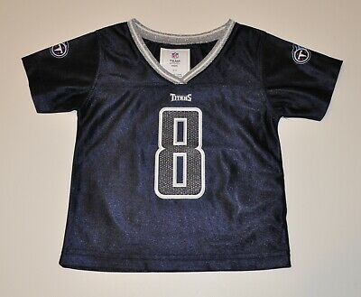 c5c10a3f8 NWOT Tennessee Titans Marcus Mariota Girls Infant Baby Football Jersey 12M,  18M