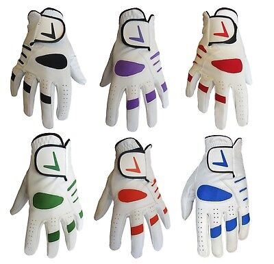 Mens Full Leather Cabretta Palm Golf Glove Lh & Rh - Different Colour Options