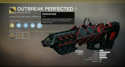 Outbreak Perfected (Prime) Destiny 2 Zero Hour Mission Completion Xbox One