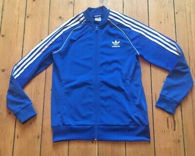 Womens Girls Ladies Adidas Tracksuit Top Gum Run Lounge Size 6 Age 13-14