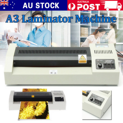 A3 Laminating Laminator machine Cold Hot Mounted Thermal Roller Pouch Menu