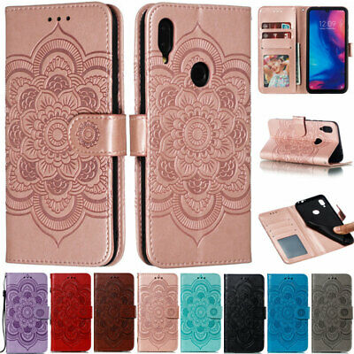 Mandala Wallet Leather Flip Case Cover For Xiaomi Mi 9T CC9 Redmi K20 6A Note 7