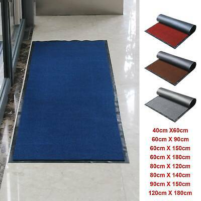 Heavy Duty Non Slip Rubber Barrier Mat Small Rugs Back Door Hall Kitchen 40X60Cm