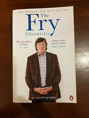 The Fry Chronicles by Stephen Fry (Paperback, 2011) book FAST FREE POST