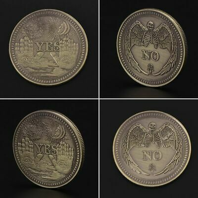 New Bronze Yes or No Decision Commemorative Coin Souvenir Collection Craft Gifts