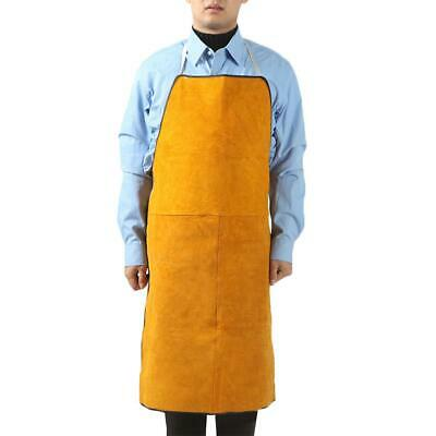 Unisex Welder Heat Welding Equipment Insulation Protection Cowhide Leather Apron