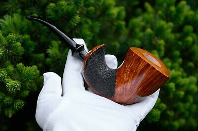 Freehand Briar Pipe Smoking Tobacco Exclusive Handmade Souvenir With Soul KAF