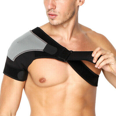 Fashion Shoulder Brace Rotator Cuff Pain Relief Support Adjustable Belt Sleeve
