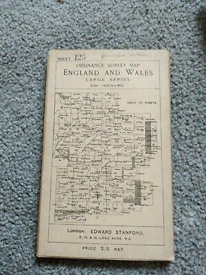 Ordanance survey maps England And Wales Large Series