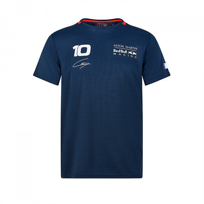 Red Bull Racing Official Men's Pierre Gasly Sportswear T-shirt - 2019 clearance