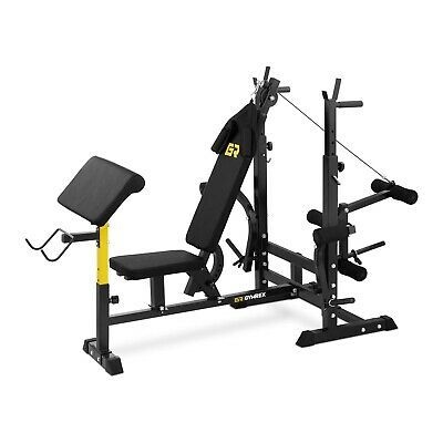Multifunctional Weight Bench Full-Body Workout Fitness Home Gym Muscles  280 Kg