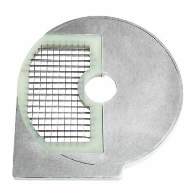 Food Dicing Disc Processor Blade 8X8X8 Mm Dice Vegetable Cutting Stainless Steel