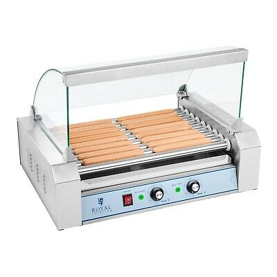 Hot Dog Grill Hotdog Maker Machine 9 Rollers Grill 1800 W Gastro Express